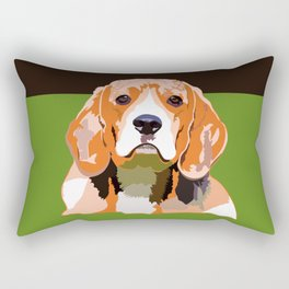 Petsy - Custom Pet Portraits Rectangular Pillow