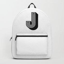 Letter J Backpack