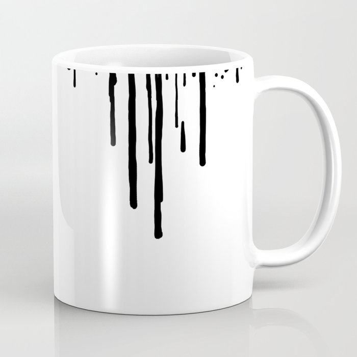 Fandom in Ink: Black Widow Coffee Mug by rebeccaloomis   Society6