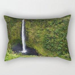 Akaka falls - waterfall Rectangular Pillow