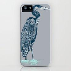 Bewitching blue heron Slim Case iPhone (5, 5s)