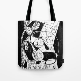 Xylography femme Tote Bag