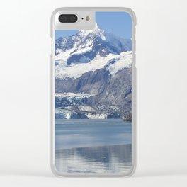 John Hopkins Glacier Clear iPhone Case
