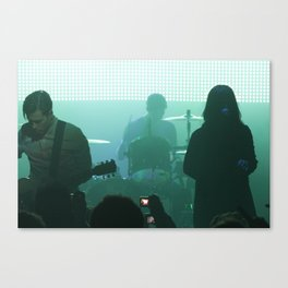 Naked and Famous  Canvas Print