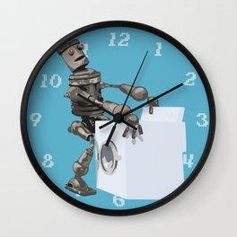 Hump bot Wall Clock