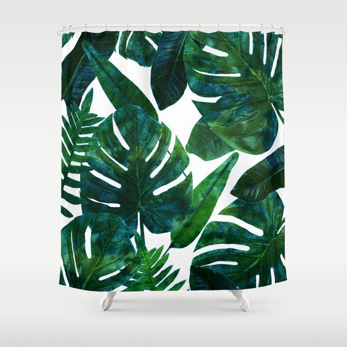 Perceptive Dream || #society6 #tropical #buyart Shower Curtain By .