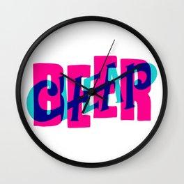 CheapBeer Wall Clock
