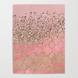 Pink Moroccan Princess Poster