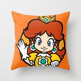 Princess of Sarasaland Throw Pillow