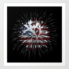 Joshua Tree Americana by CREYES Art Print