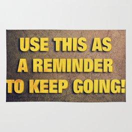 Inspirational Wallpaper Rug