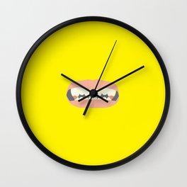 Pointy Teeth Wall Clock