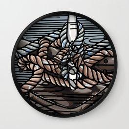 Knotical Wall Clock