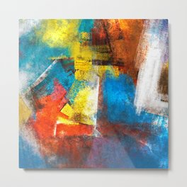 Infinity abstract painting   Abstract Painting Metal Print