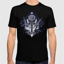 Sif the Great Grey Wolf T-shirt