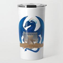 Clan Lochguard Blue Crest Travel Mug