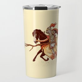 Marshmallow Joust Travel Mug