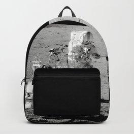 Apollo 14 - Black & White Moon Work Backpack