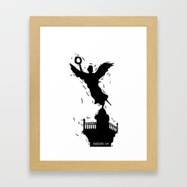 El Angel de la Independencia Framed Art Print