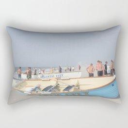 Atlantic City Lifeboats Rectangular Pillow