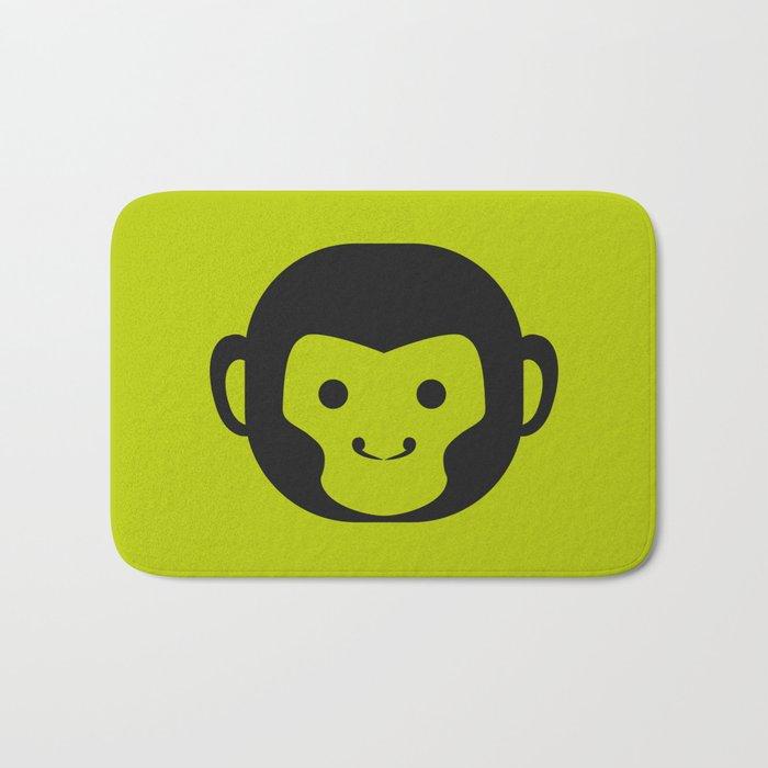 Monkey Head Bath Mat