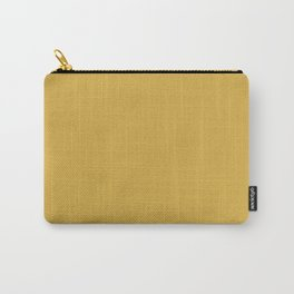 Designer Fall 2016 Spicy Mustard Yellow Carry-All Pouch