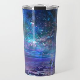 Ocean, Stars, Sky, and You Travel Mug