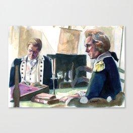 Ben and Alex Canvas Print