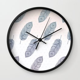 Boho Spirit Wall Clock