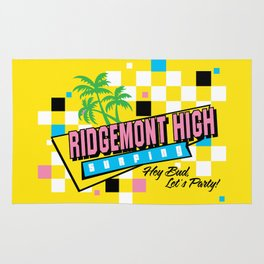 Ridgemont High Surfing Rug
