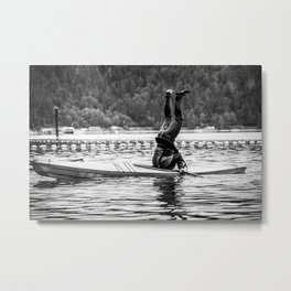 Upside down Metal Print