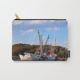 Old Fishing Boats Carry-All Pouch