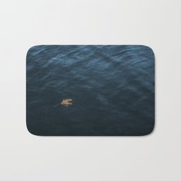 Leaf and Raindrops Bath Mat