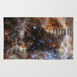 Explore - Space and the Universe Rug