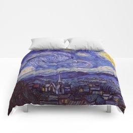Vincent Van Gogh Starry Night Comforters