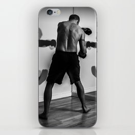 Shadow Boxing iPhone Skin