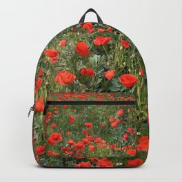 A stroll of poppies Backpack