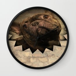 bully on the wall Wall Clock
