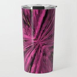 artful purple  little abstract pattern Travel Mug
