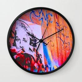 Eye Spy Graffiti Wall Clock