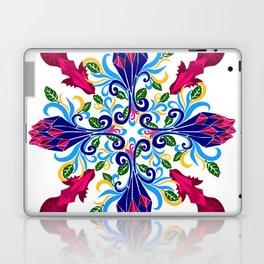 Moroccan Rose Tile Pattern Laptop & iPad Skin