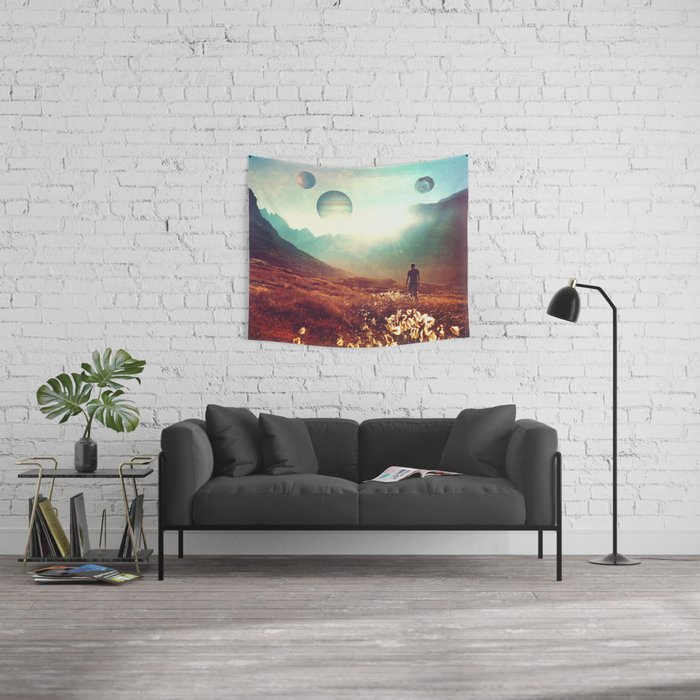 Martian. Wall Tapestry