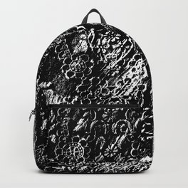 Frottage Lace Backpack