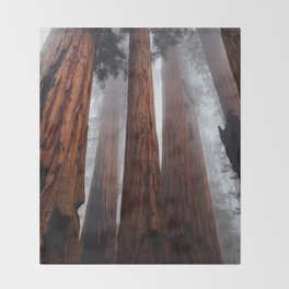 Woodley Forest Throw Blanket