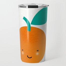 Miss Cheeky Orange Travel Mug