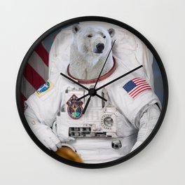 Where No Polar Bear Has Gone Before Wall Clock