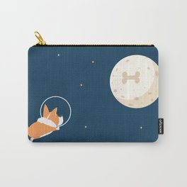 Fly to the moon _ navy blue version Carry-All Pouch