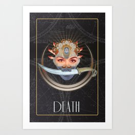 Death Tarot Art Print