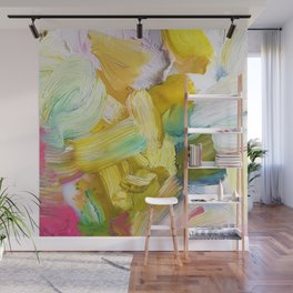 Lots of Feelings Abstract Painting Wall Mural