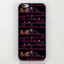 Donkey Kong Retro Arcade Gaming Design iPhone Skin